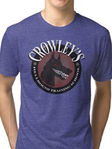 Crowley's Hellhound Training School Tri-blend T-Shirt