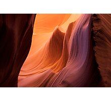 Sandstone Waves Photographic Print