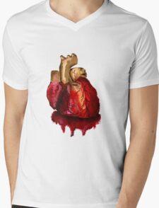 Heart2 0 Mens V-Neck T-Shirt