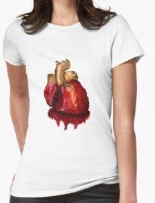 Heart2 0 Womens Fitted T-Shirt