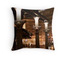 Pioneer Square Throw Pillow