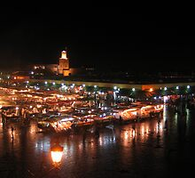 Djemaa el Fna, Marrakech  by jojobob