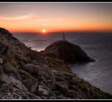 South Stack at sunset by Shaun Whiteman