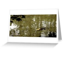 Water Koi 1 Greeting Card