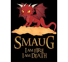 Smaug The Dragon Photographic Print