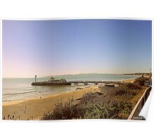 Bournemouth Beach & Pier Poster