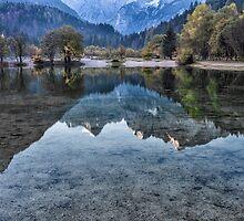 Jasna Lake, Slovenia by Curtis Budden
