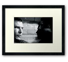 movie star Framed Print