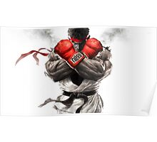 Ryu Street Fighter Poster