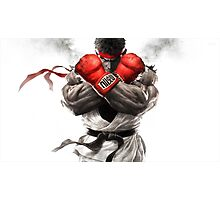 Ryu Street Fighter Photographic Print