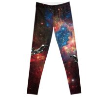 Serenity In Space Leggings