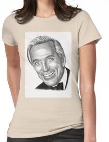 Where do I begin? B&W Womens Fitted T-Shirt