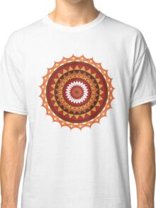 Red and yellow ornament Classic T-Shirt