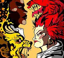 RED VS VEE by Brent Koehler