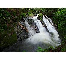 Foote Brook, Upper Falls, Summer Photographic Print