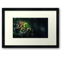Anubis from Smite Framed Print