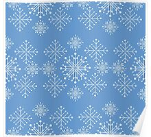 Snowflakes ornament Poster