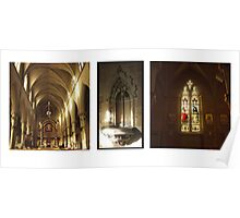 Architectural Tryptich #1: St John's Cathedral (no text) Poster