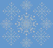 Snowflakes ornament 2 by AnnArtshock