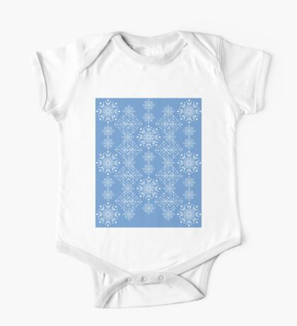 Snowflakes ornament 3 One Piece - Short Sleeve