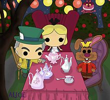 Mad Tea Party by SpaceWaffle