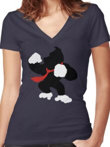 Nintendo Forever Series - Donkey Kong Women's Fitted V-Neck T-Shirt