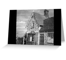 Millbrook Station House Greeting Card