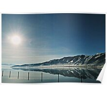 Inch Deep Water & Mile Wide Reflections Poster