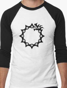 Nanatsu no taizai: Anger symbol Men's Baseball ¾ T-Shirt