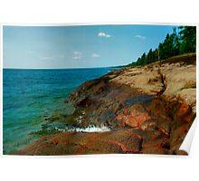 The Edge - Lake Superior Poster