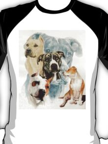 American Staffordshire Terrier /Ghost T-Shirt