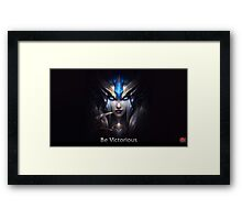 League Of Legends:be victorious!!! :D Framed Print