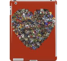 Monsters in our hearts! iPad Case/Skin