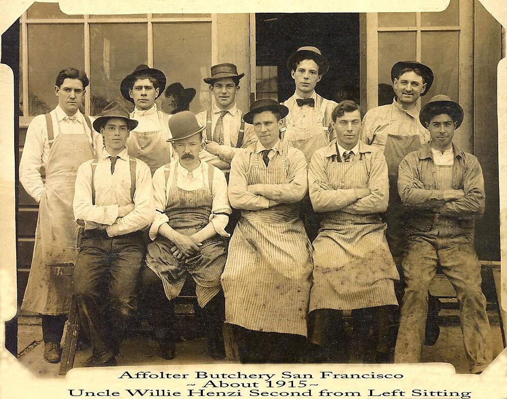 Family owned S.F. Butchery 1915 by Edward Henzi
