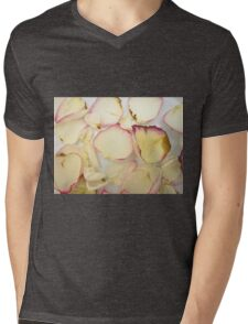 Rose Petals Mens V-Neck T-Shirt