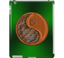 Taurus & Snake Yin Wood iPad Case/Skin