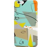 Mid-Century Modern Abstract Art  iPhone Case/Skin