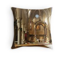 St. John's Cathedral: Christmas decorations Throw Pillow