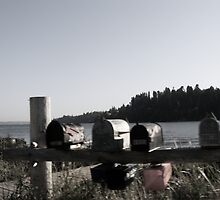 Mailboxes of Haven Island by WaleskaL