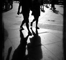 Shadows at Circular Quay by Paul Todd