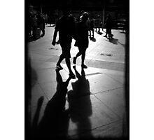 Shadows at Circular Quay Photographic Print