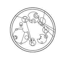 "Circular Gallifreyan: ""My other bag is bigger on the inside"" by lucythewhovian"