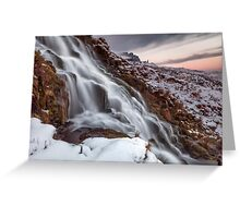 Storr Falls Greeting Card