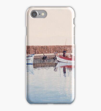 Fishing Boats iPhone Case/Skin