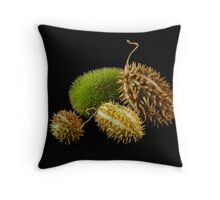 Rare Pods.... Throw Pillow