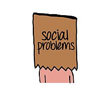 Social Problems Photographic Print