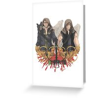 Blood Brothers Greeting Card