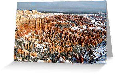 Snow on Bryce Amphitheater by Dan Sweeney