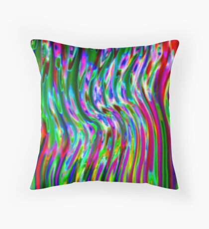 macabre chorale Throw Pillow
