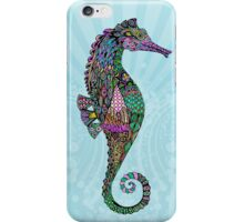 Electric Psychedelic Seahorses iPhone Case/Skin